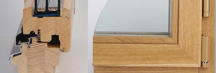 Достоинства деревянных окон со стеклопакетом