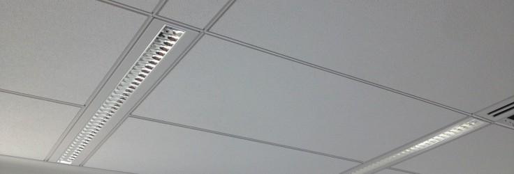 Установка подвесных потолков, типы, технология