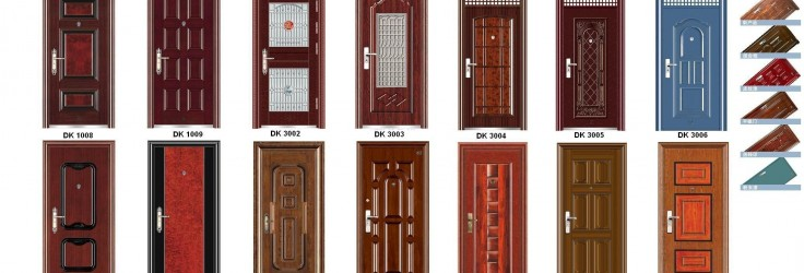 Металлические стальные входные двери