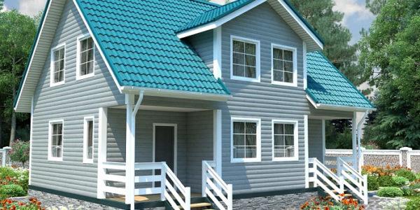 Отличные дома для проживания из деревянного бруса