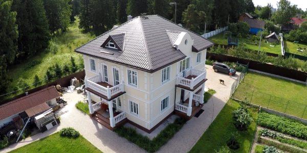 Строительство дома из кирпича — компания Монолит