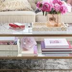 Журнальный столик как элемент декора