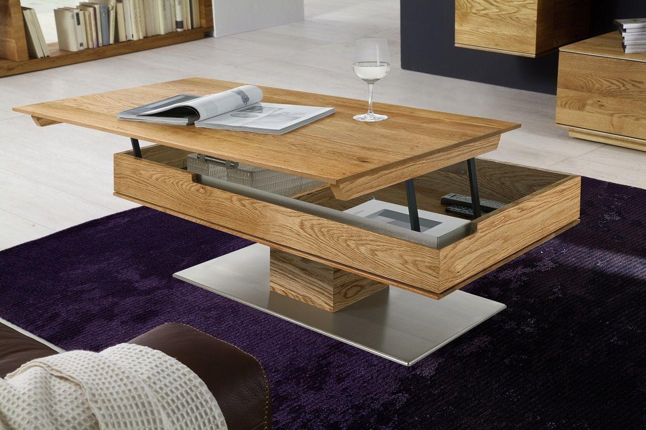 Журнальный столик с механизмом как элемент декора